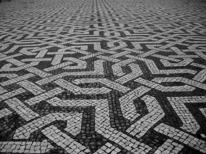 calçada-geometrica